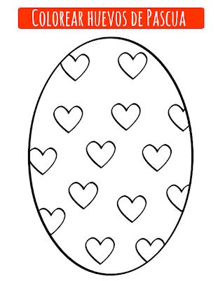 Huevo de Pascua para pintar