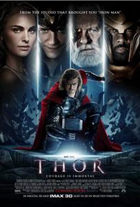 Cartel original de Thor