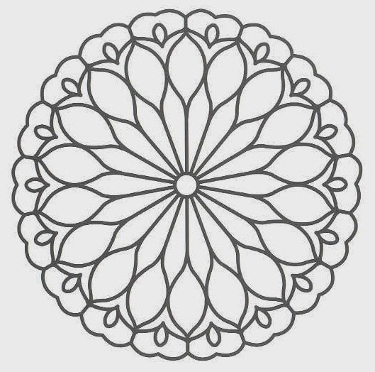 free coloring pages of mandalas - photo#12