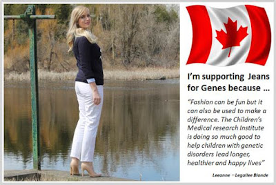 Sydney Fashion Hunter - Fashion Bloggers For Jeans For Genes - Legallee Blonde - Canada