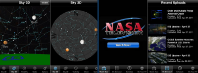 NASA Mobile applications