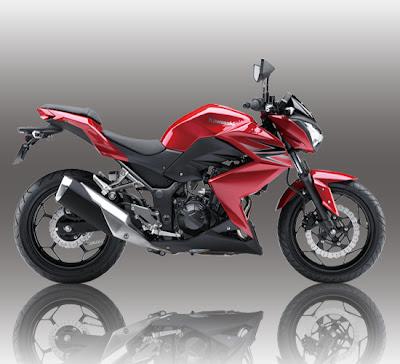 Kawasaki Z250 Red