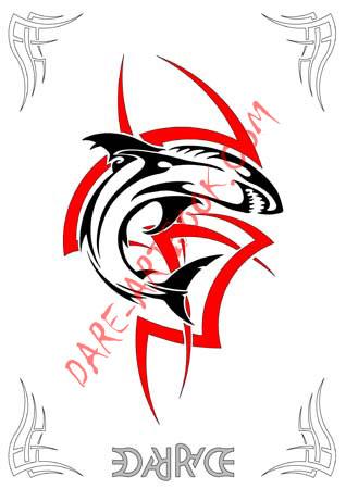 Tattoo Flash Art Designs. Trips Design Tribal Art Animal