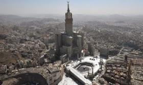 Mecca+Royal+Clock+Tower 10 Proyek Bangunan Paling Menakjubkan di Dunia