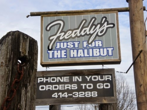 Freddy's Just For The Halibut