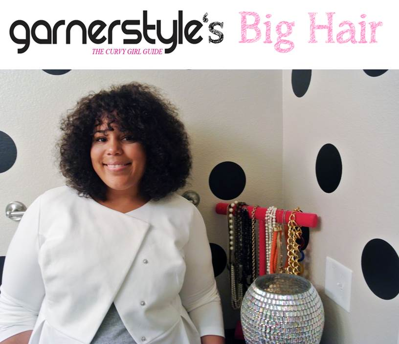 How to achieve big hair with natural hair.