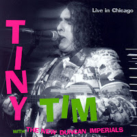 Portada de Live in Chicago de Tiny Tim (1995)