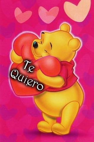 imagenes de amor te amo en osito pooh