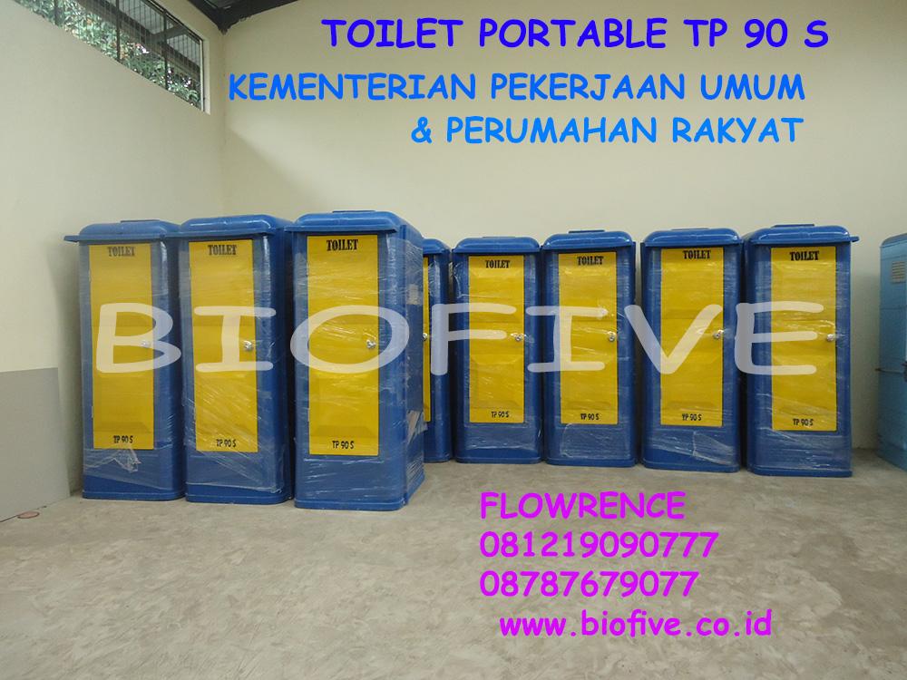 Toilet Portable Kemen PUPR