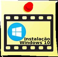 Windows 10 instalação do Sistema