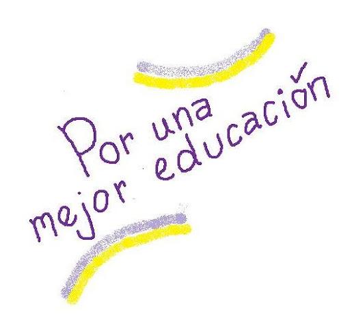 Por una mejor educación