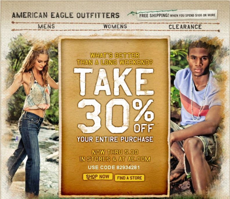 American Eagle Coupons Printable In-Store