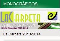 Oferta educativa en Aragón