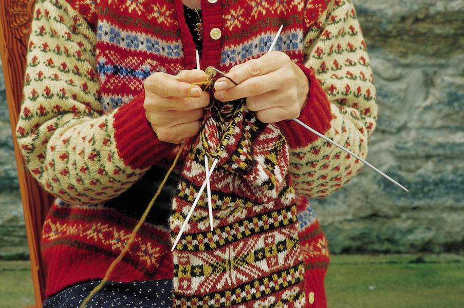Ultima Thule: Fair Isle :knitwear, shipwrecks and birds on the ...