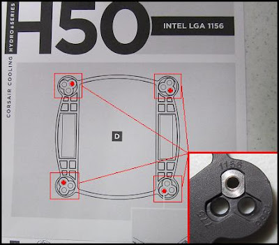 Help Mounting Hydro Series H50/H70 to Socket 1155 picture 2