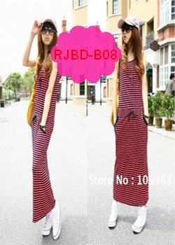 koleksi model long dress rajut korea style murah grosir bisa menampilkan kesan tinggi