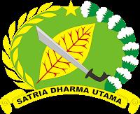 LOGO-LAMBANG KOREM 143+SATRIA+DHARMA+UTAMA