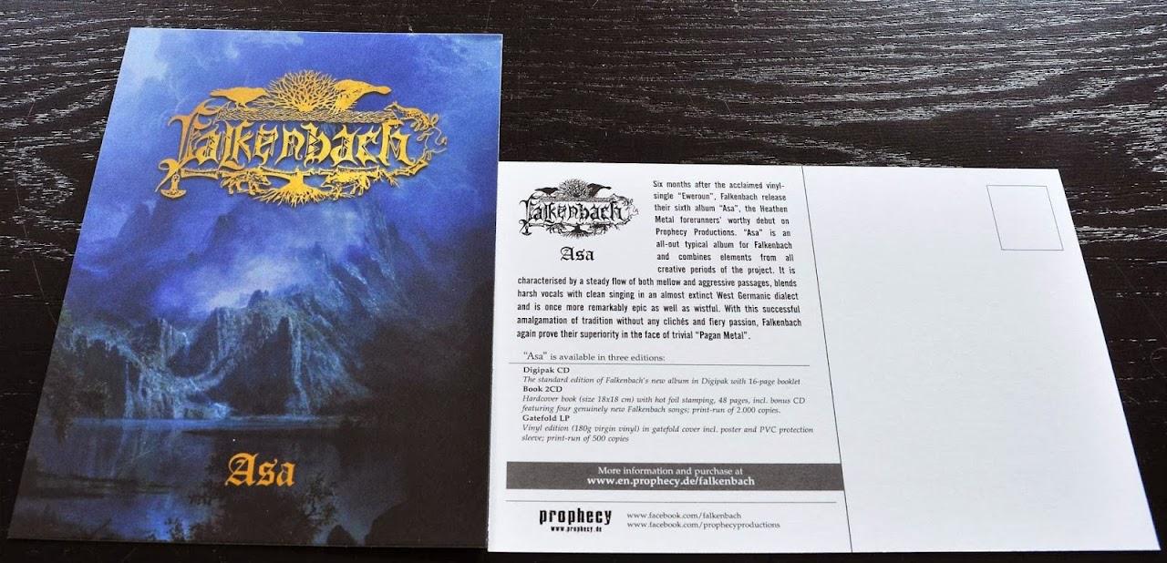 Falkenbach - Asa (2013) postcard