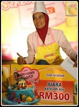 Juara Cabaran Daisy Sehebat Chef - Zon Selatan Julai 10, 2011