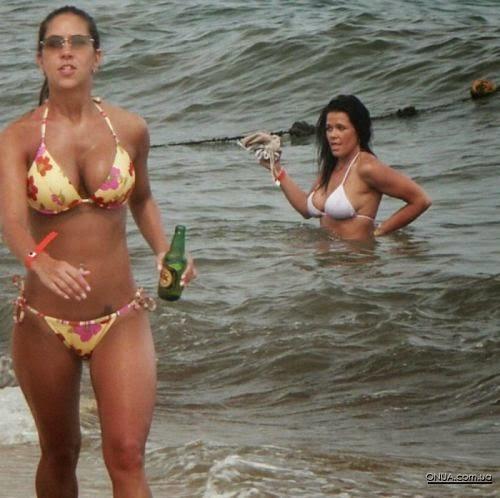 Bikini Cleavage.