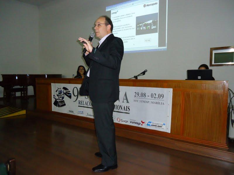 9ª Semana das Relações Internacionais - UNESP: Campus Marília - SP