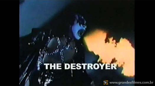 Gene Simmons em Os Vingadores 1978
