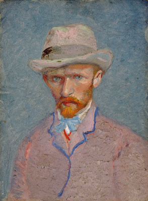 vincent van gogh  - 1887 self-portrait