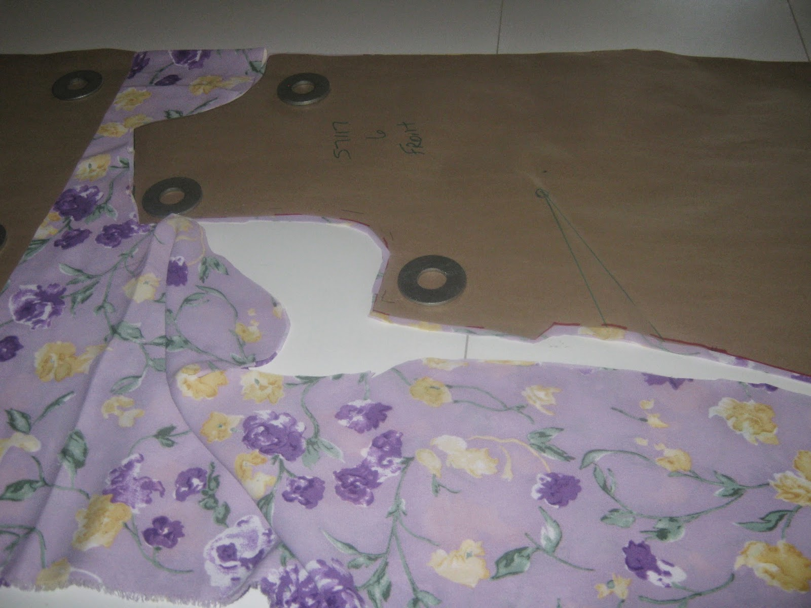 Simplicity 7117 sleeveless dress www.sewplus.blogspot.com