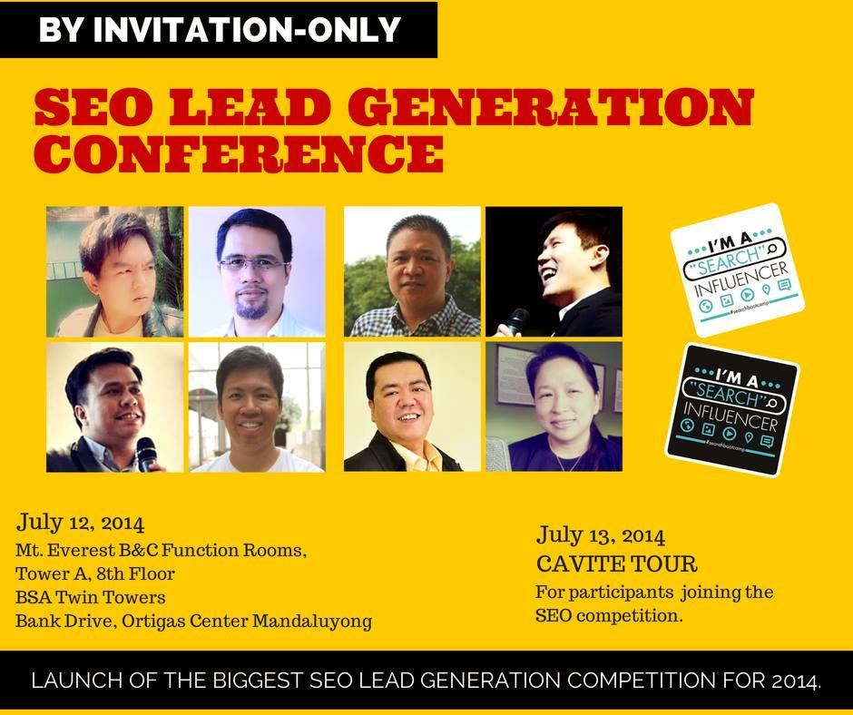 SEO Lead Generation Conference