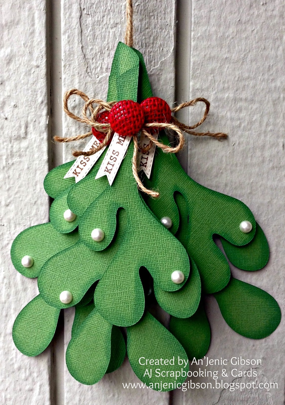 3D Mistletoe by An'Jenic Gibson