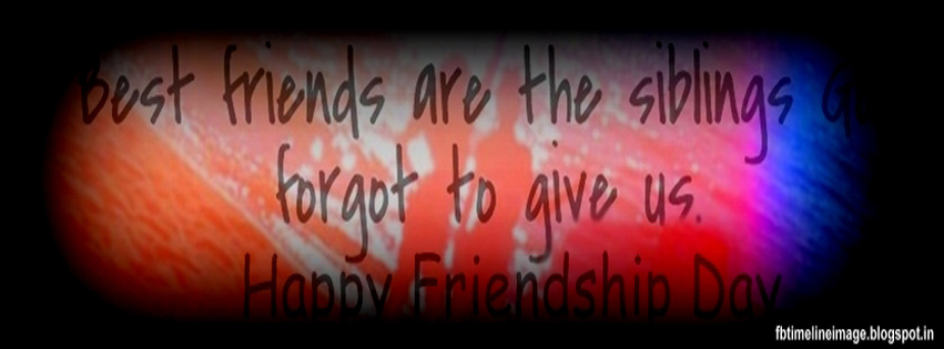 Facebook Timeline Image: Happy Friendship Day 2013 wallpapers for ...