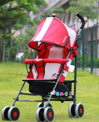 Xe đẩy Seebaby S02 - 1 màu đỏ