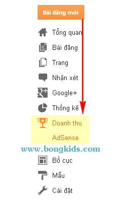 Cách tạo và đăng ký Google AdSense cho Blogspot Blogger 13