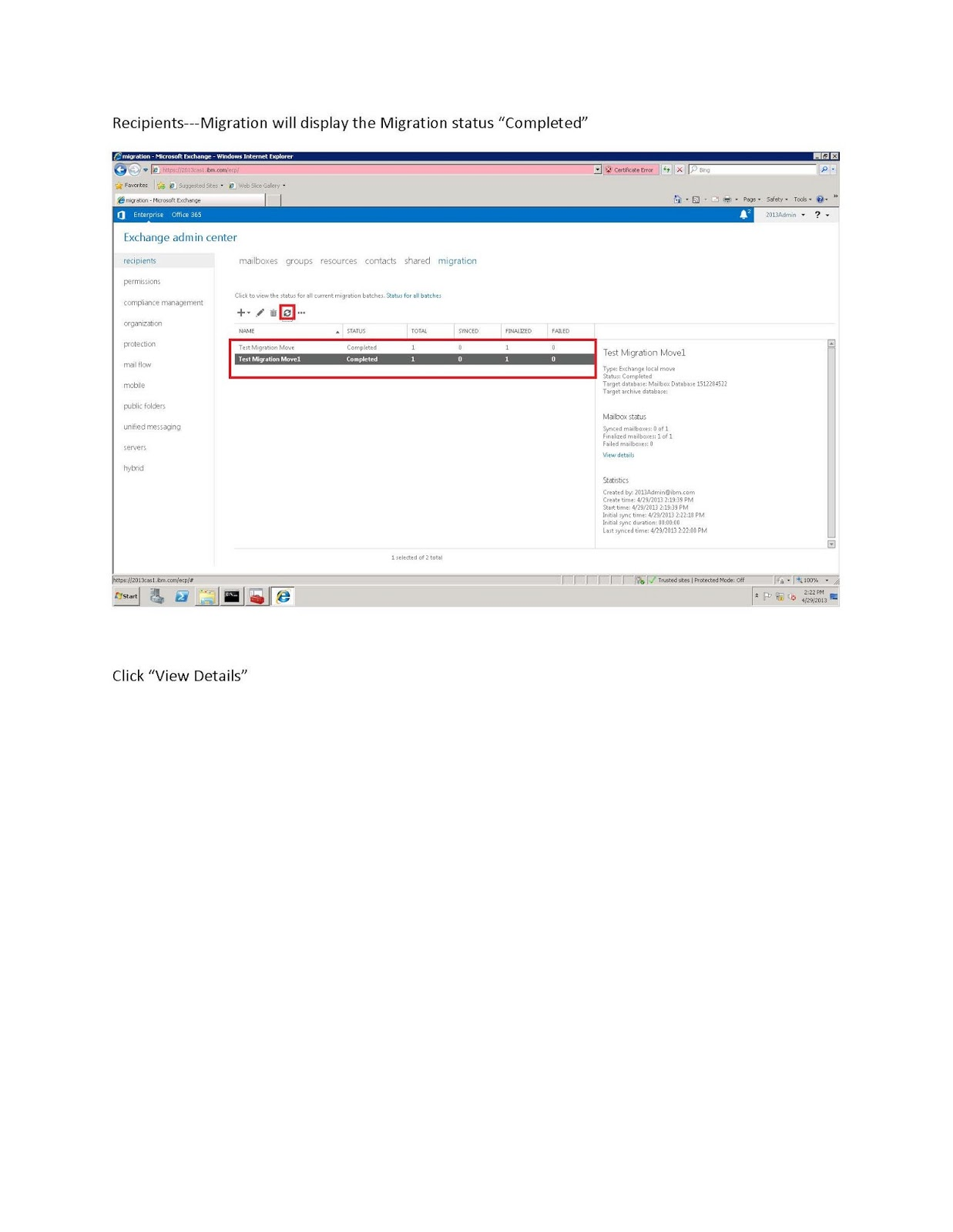 Microsoft technology technical blog exchange 2010 to 2013 get mailbox database mailbox database new moverequest targetdatabse mailbox databse 2013 xflitez Images