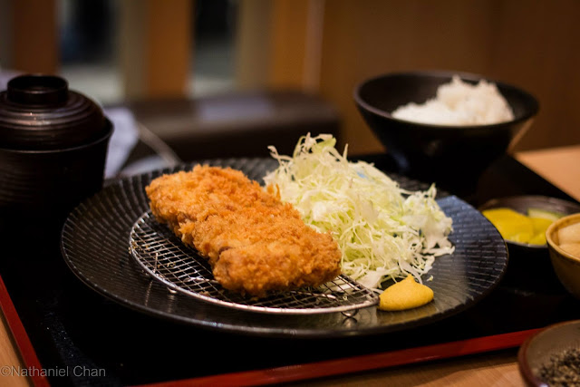 Menchi Set of Yabu: the House of Katsu