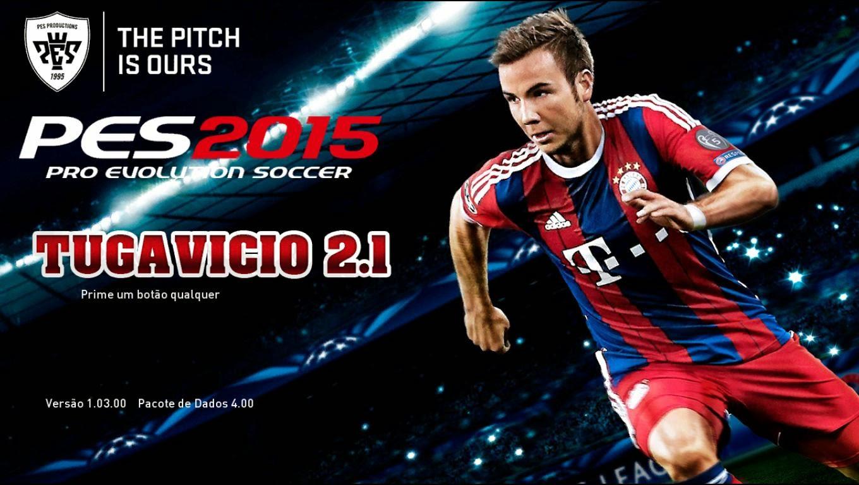PES 2015 Tuga Vicio v2.1 Terbaru cover