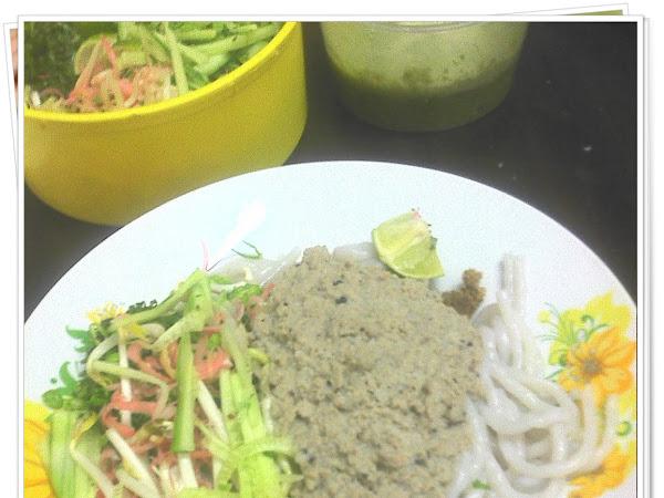 Masak-masak : Laksa Lemak Kelantan