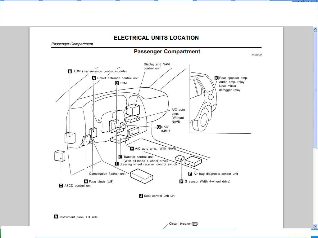 Nissan flasher diagram