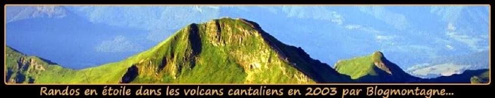 ➽ Cinq jours à découvrir, à pied, les volcans Cantaliens par Blogmontagne ~