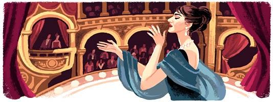 Maria Callas'ın 90'inci Doğum günü