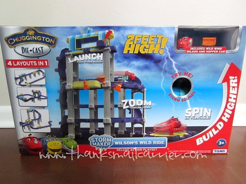 Chuggington Deluxe Action Playset