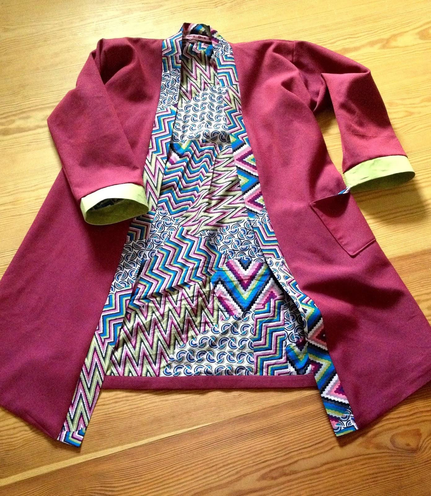 floh stiche kimono morgenmantel frucht des gestrigen. Black Bedroom Furniture Sets. Home Design Ideas