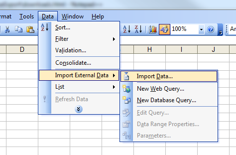 how to open iqy file in excel