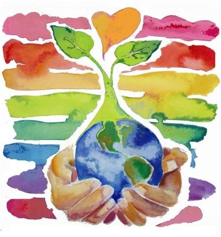world earth day 2011 logo. world earth day 2011 logo.