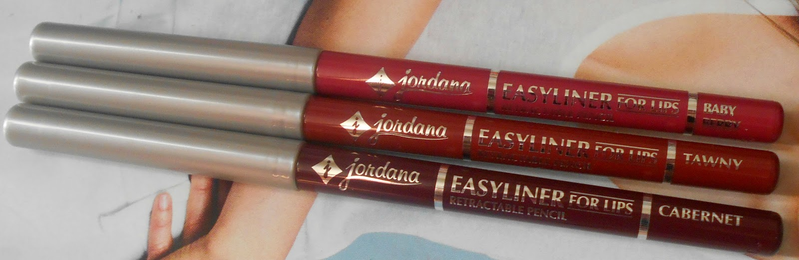 Jordana Cosmetics Easyliners For Lips