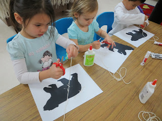 Preschool polar bear craft