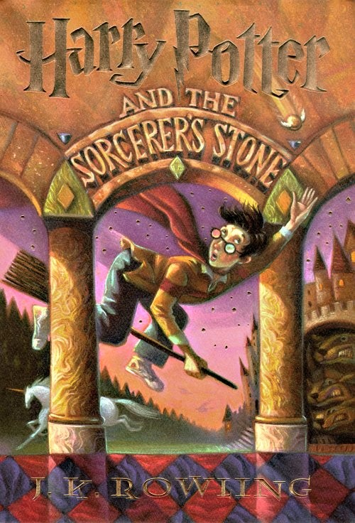 harry potter books cover. Top Ten Tuesday--Book Covers