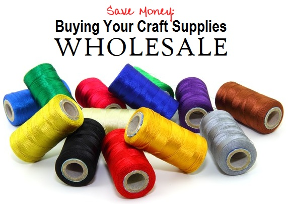 save money buying your personal craft supplies wholesale