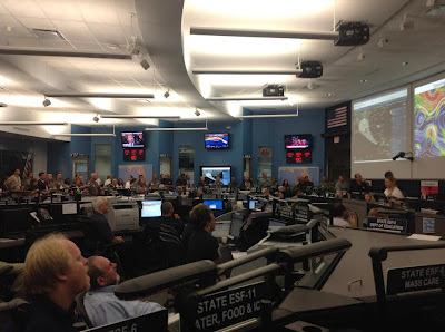 Florida State Emergency Operations Center briefing on Isaac, Friday, August 26