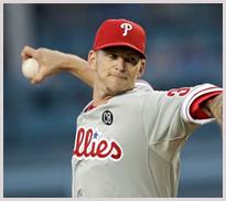 Phillies pitcher A.J. Burnett